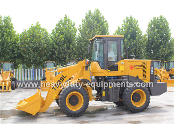 Cina SINOMTP Wheel Loader T939L With Cummins Engine 4BT3.9-C100 With Rock Bucket pemasok
