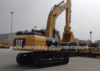 Cina Caterpillar Excavator 330D2L with 30tons Operation Weight , 156kw Cat Engine, 1.54m3 Bucket pemasok