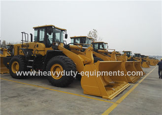 Cina 5Tons SDLG  Wheel Loader L956F With Pilot Control , 3m3 Rock Bucket , 162kw Weichai Engine pemasok