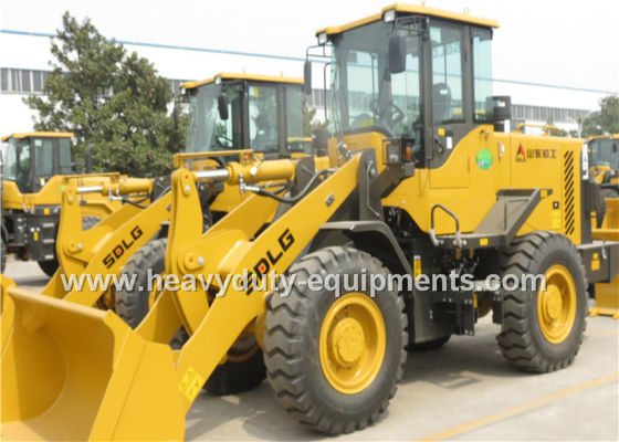 Cina Wheel loader LG936L With 92kw Weichai Engine 1.8m3 Bucket Pallet Fork for Option pemasok