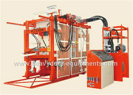 15T Gross Weight Hollow Automatic Block Membuat Mesin PLC Control System