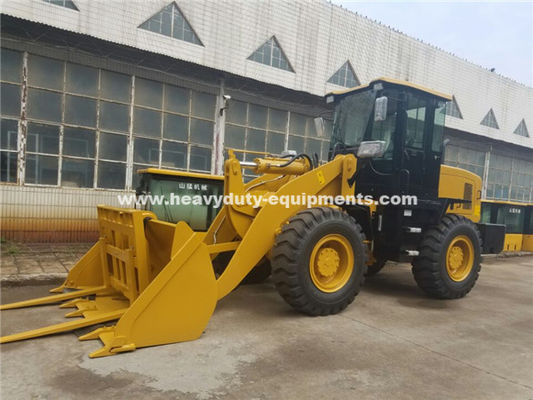 Cina 3000kg Loading Capacity Wheel Alat Berat Loader Dengan 127kn Breakout Force And 3100mm Dump Height pabrik
